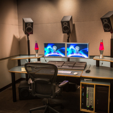 Television Sound Editorial Room