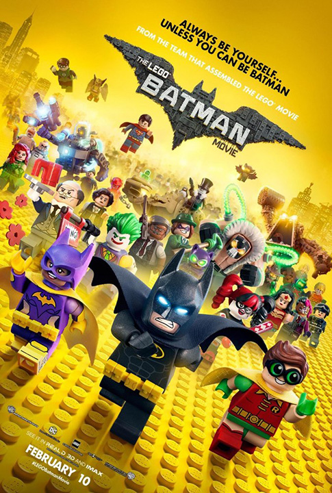 """The LEGO Batman Movie"""" now in theaters…   Warner Bros. Sound"""