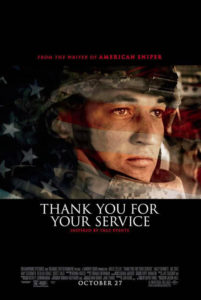 """Don't miss """"Thank You For Your Service"""" in theaters on October 27th"""
