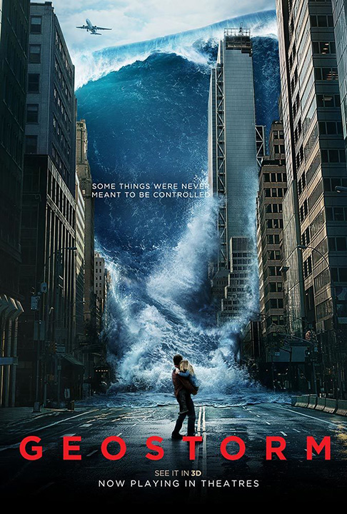 """Don't miss Warner Bros. """"Geostorm"""" opening in theaters today!"""