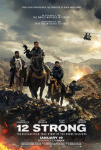 """Don't miss """"12 Strong"""" in theaters this weekend!"""