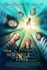"""Now in theaters """"A Wrinkle In Time""""! T"""